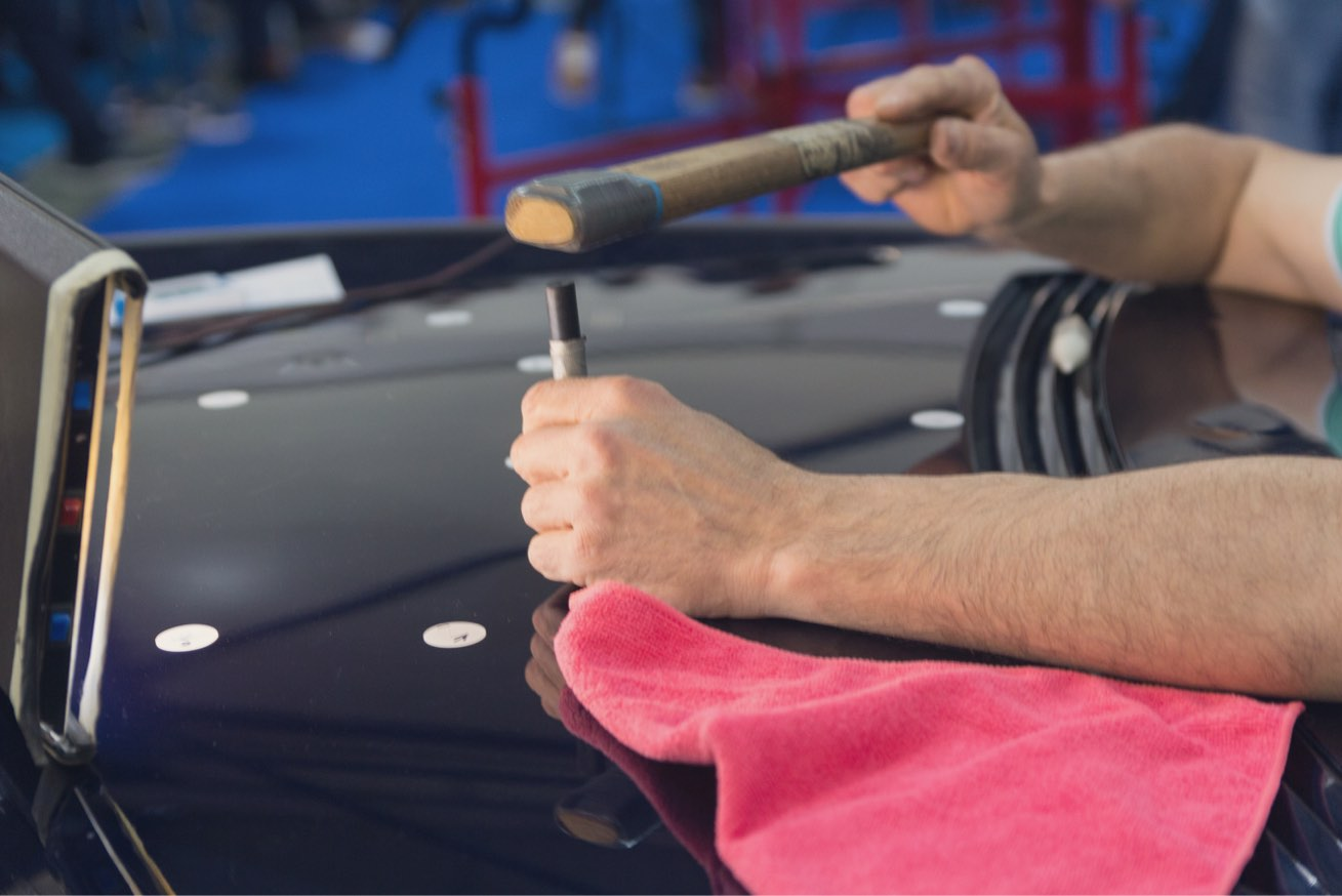Hail Damage Repair - Paron Collision & Paint